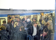 U-Bahn: rush-hour